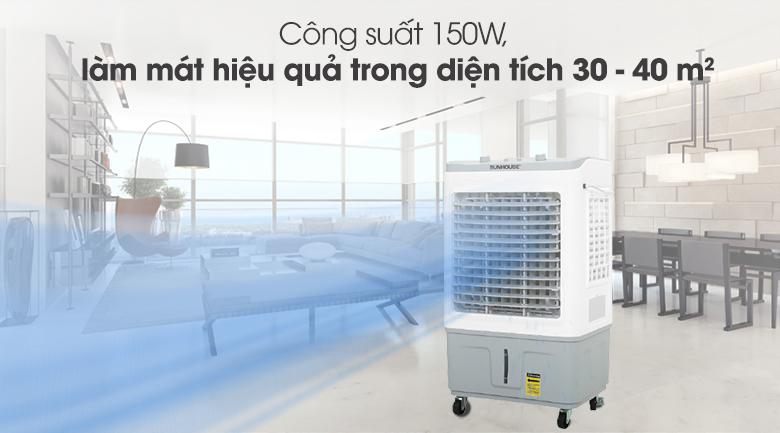 Công suất - Quạt điều hòa Sunhouse SHD7734.