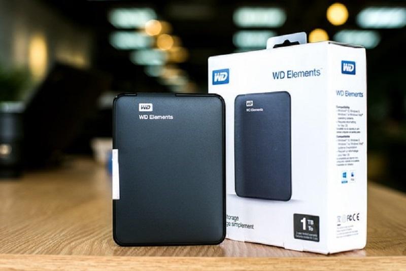 Ổ cứng WD Elements 1TB - Kích thước nhỏ gọn