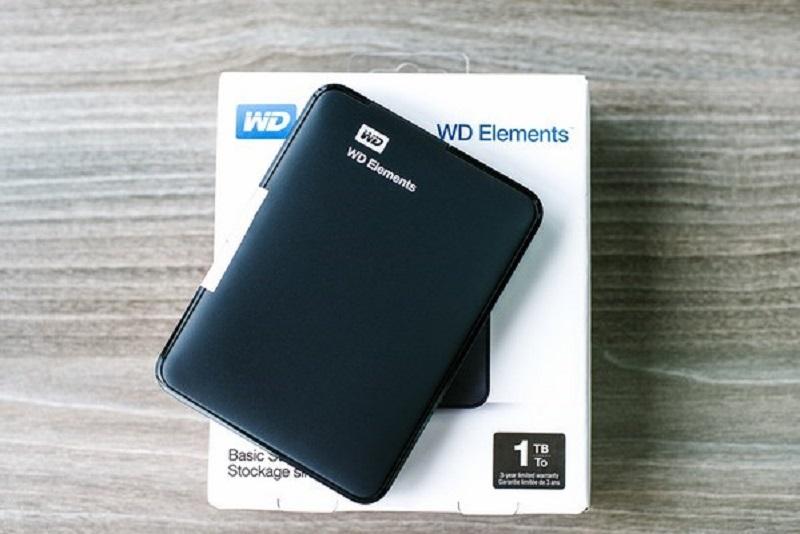 Ổ cứng WD Elements 1TB - Làm việc đơn giản, dễ dàng