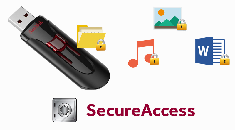 USB 3.0 16GB Sandisk CZ600 - Phần mềm SanDisk SecureAccess