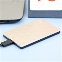 Ổ cứng HDD 1TB Seagate Backup Plus Ultra Slim Gold