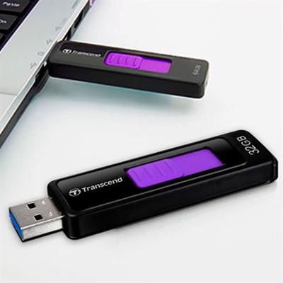 USB 3.1 32 GB Transcend JetFlash 760 Đen Tím