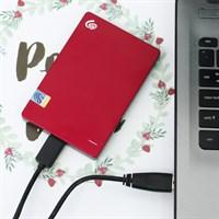 Ổ cứng HDD 1TB Seagate Backup Plus Slim đỏ