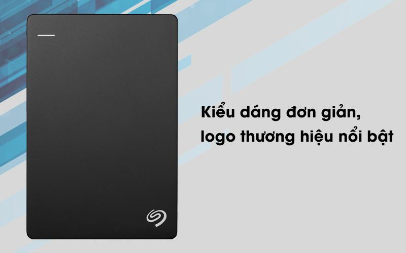 Ổ cứng HDD 1TB Seagate Backup Plus Slim đen có kiểu dáng sang trọng