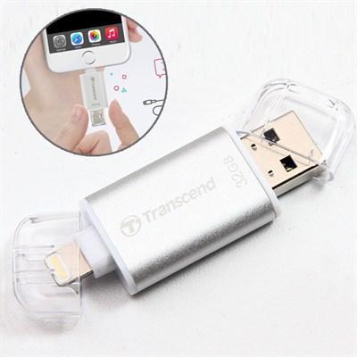 USB OTG 32 GB Transcend cho iPhone-iPad