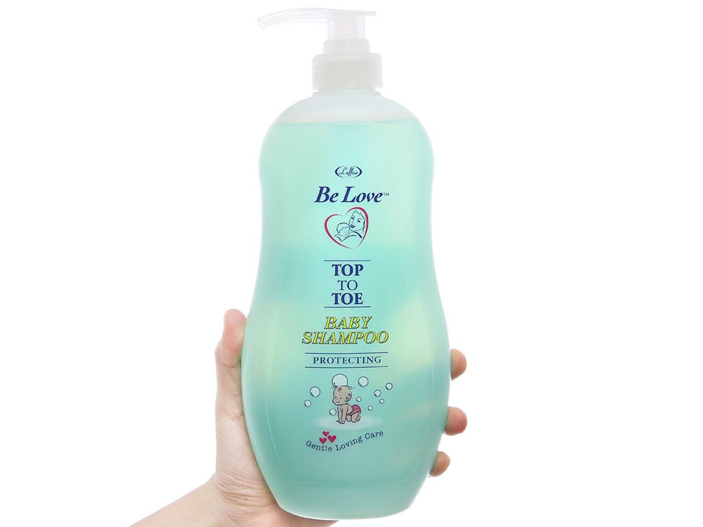 Tắm gội cho bé L'Affair Be Love chăm sóc và bảo vệ 850ml 2