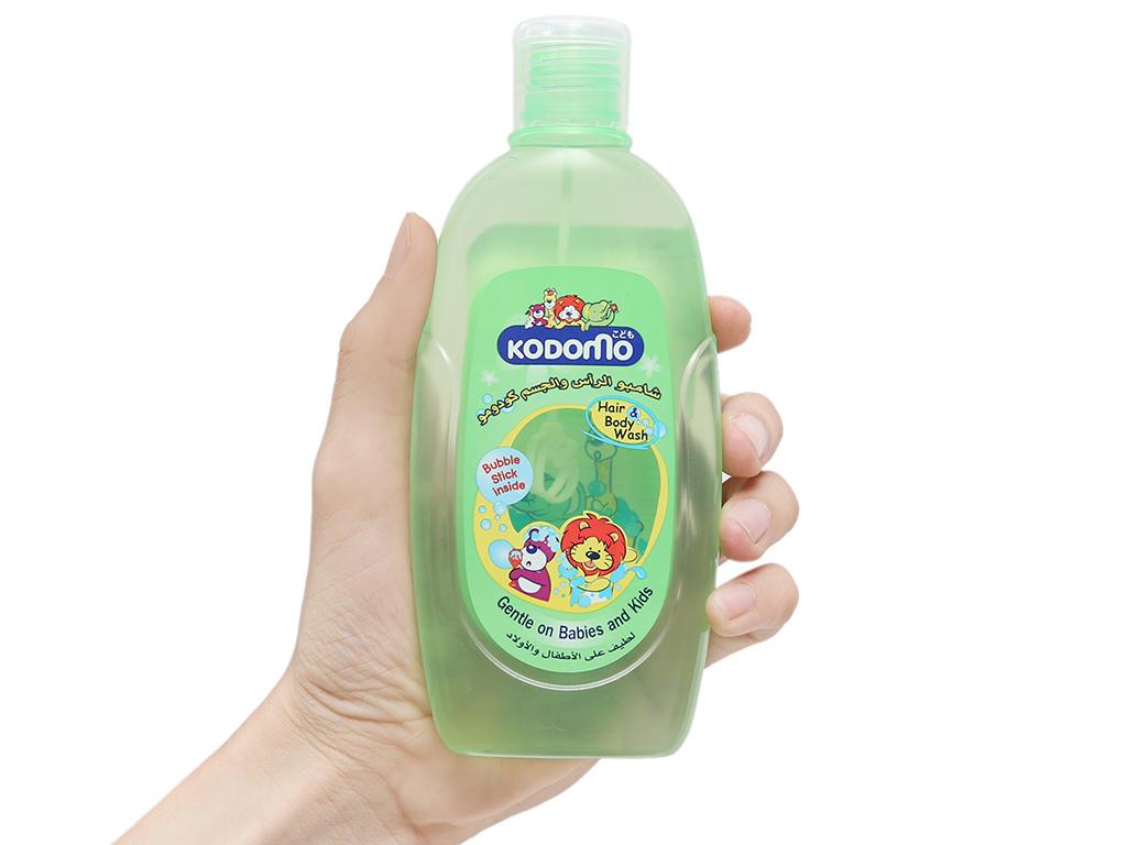 Dầu tắm gội trẻ em Kodomo 200ml 4