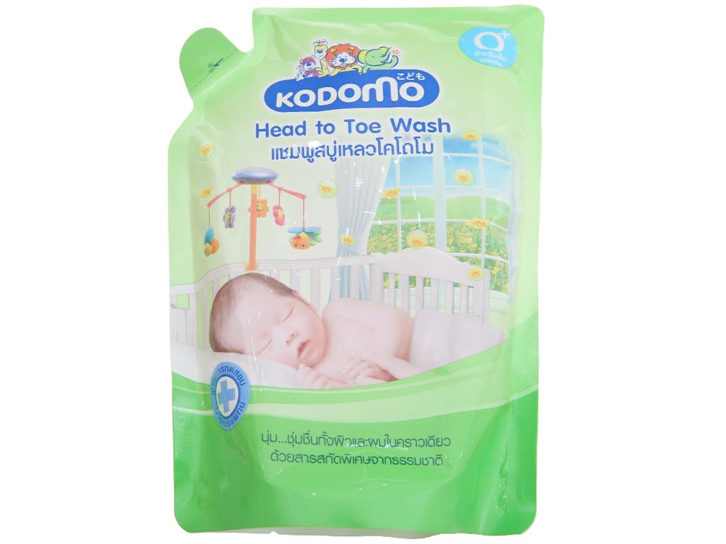 Dầu tắm gội trẻ em Kodomo 380ml 1
