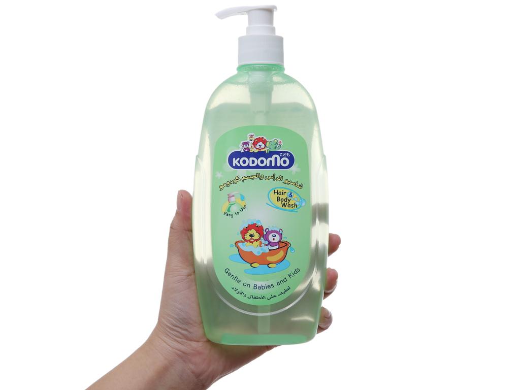 Dầu tắm gội trẻ em Kodomo 400ml 4
