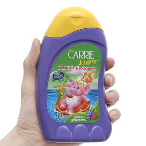 Tắm gội cho bé Carrie Junior dâu và nho 280g