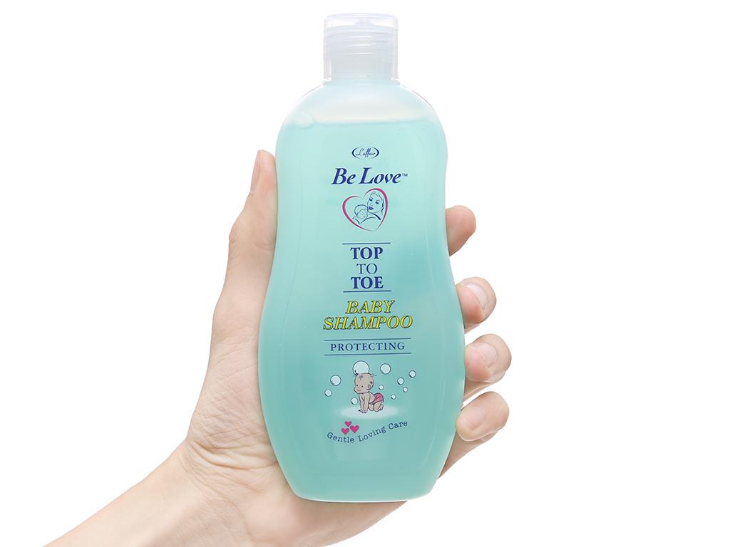 Tắm gội cho bé L'Affair Be Love chăm sóc và bảo vệ 250ml 4