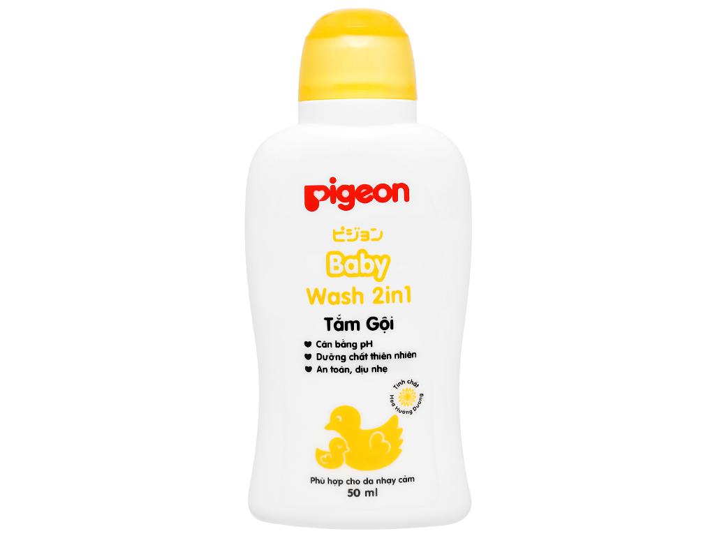 Tắm gội cho bé Pigeon chiết xuất Jojoba 200ml 10