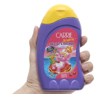 Tắm gội cho bé Carrie Junior Cherry 280g