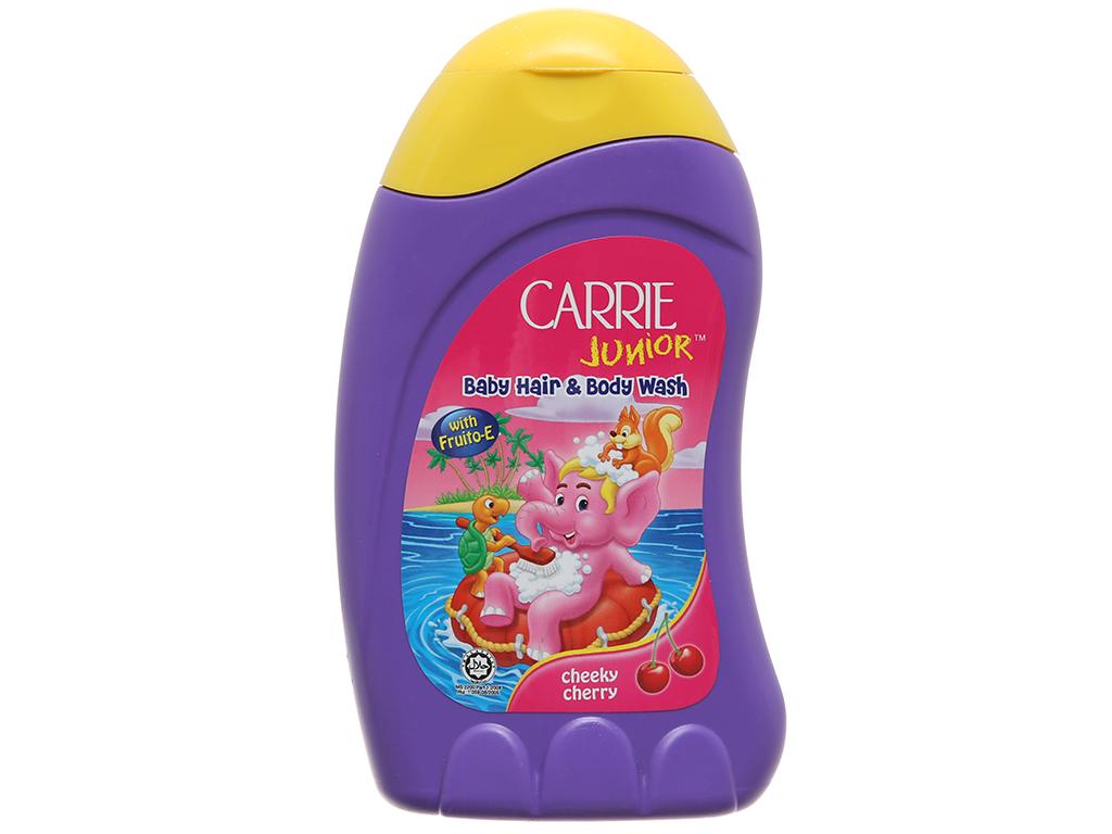 Tắm gội cho bé Carrie Junior Cherry 280g 2