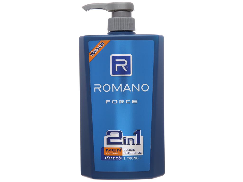 Tắm gội Romano Force 650g 2