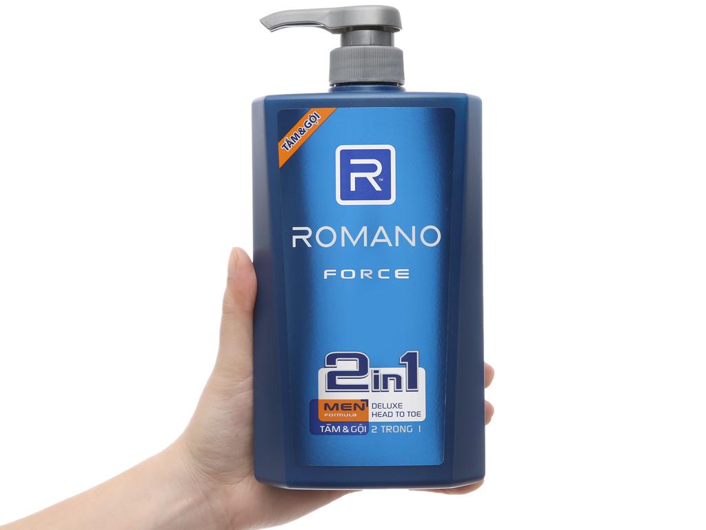 Tắm gội Romano Force 650g 4