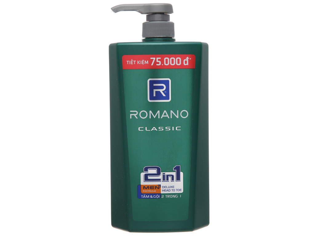 Tắm gội Romano Classic 900g 2