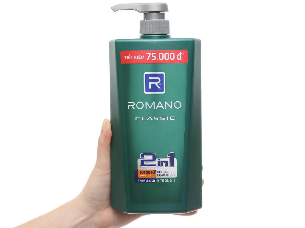 Tắm gội Romano Classic 900g 4