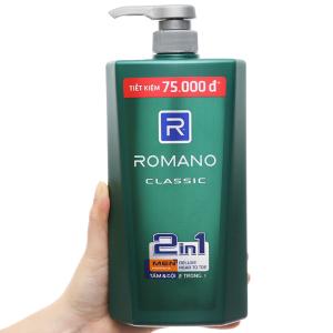 Tắm gội Romano Classic 900g