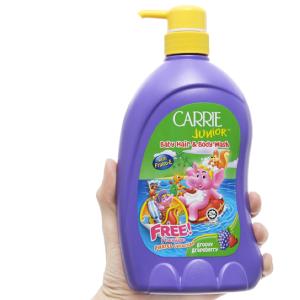 Tắm gội cho bé Carrie Junior Grapeberry 700g
