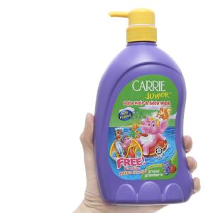Tắm gội toàn thân cho bé Carrie Junior Grapeberry 700g