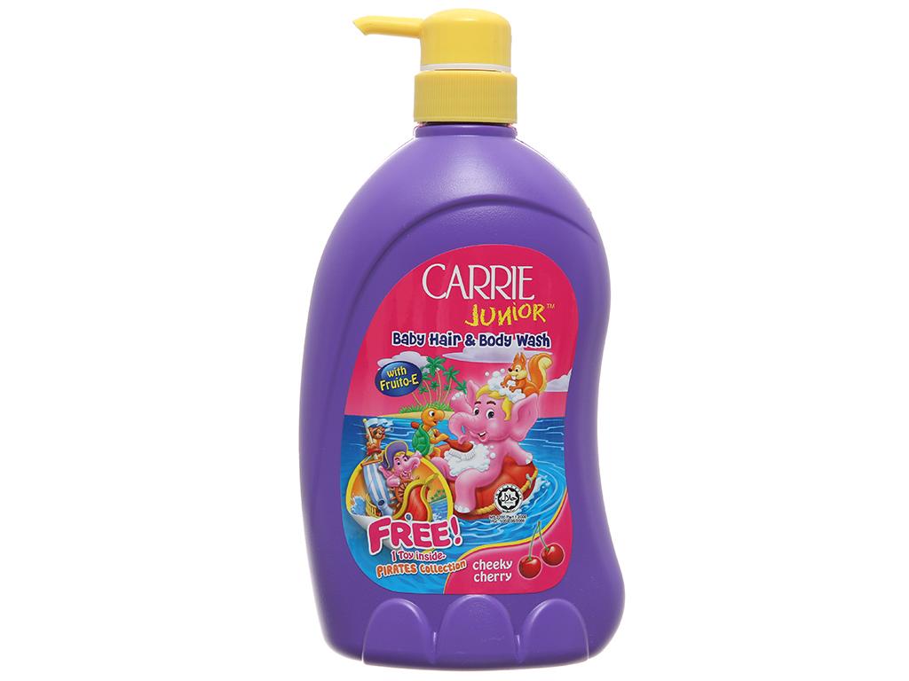 Tắm gội cho bé Carrie Junior Cherry 700g 2