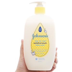 Sữa tắm gội toàn thân Johnson's Baby cho da nhạy cảm 500ml