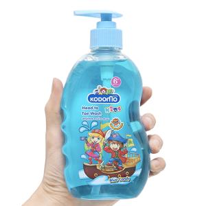 Dầu tắm gội trẻ em Kodomo blue candy 400ml