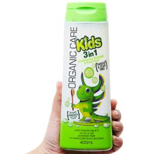 Sữa tắm gội và xả cho bé Organic Care Fruit Frenzy 400ml