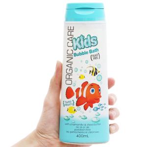 Sữa tắm gội và xả cho bé Organic Care Bubblebath 400ml