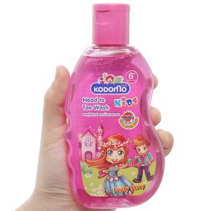 Dầu tắm gội trẻ em Kodomo Fruity Berry 200ml
