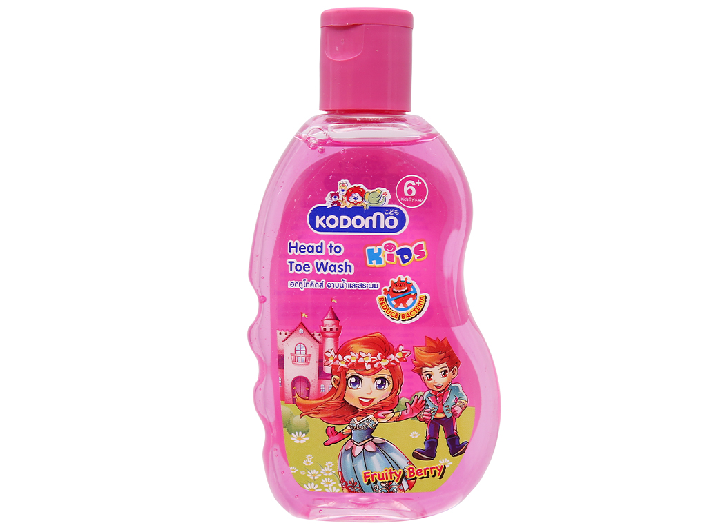 Dầu tắm gội trẻ em Kodomo Fruity Berry 200ml 1