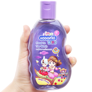 Dầu tắm gội trẻ em Kodomo Magic Purple 200ml
