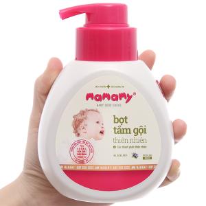 Bọt tắm gội thiên nhiên cho bé Mamamy Blueberry 400ml