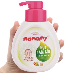 Bọt tắm gội thiên nhiên cho bé Mamamy Fancy 400ml
