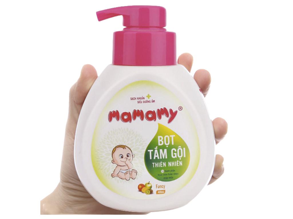 Bọt tắm gội cho bé Mamamy Fancy 400ml 4