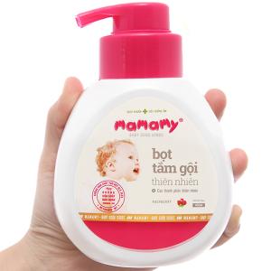 Bọt tắm gội thiên nhiên cho bé Mamamy Raspberry 400ml