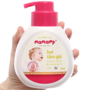 Bọt tắm gội thiên nhiên cho bé Mamamy floral 400ml
