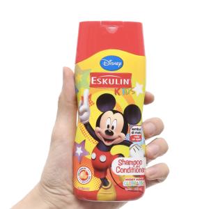 Dầu gội xả cho bé Eskulin Mickey mềm mượt 200ml