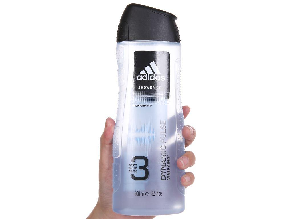 Sữa tắm gội toàn thân nam Adidas Dynamic Pulse 400ml 5