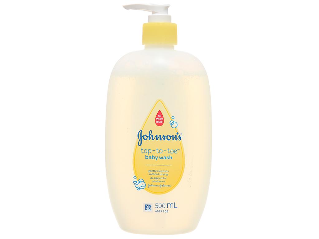 Tắm gội cho bé Johnson's Baby Top To Toe 500ml 2
