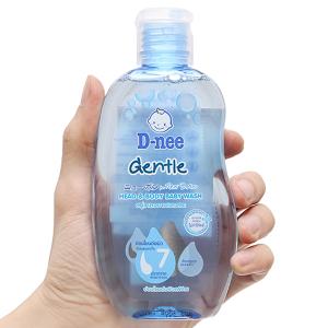 Tắm gội cho bé D-nee Gentle xanh 200ml