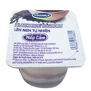 Sữa chua nếp cẩm Vinamilk hộp 100g