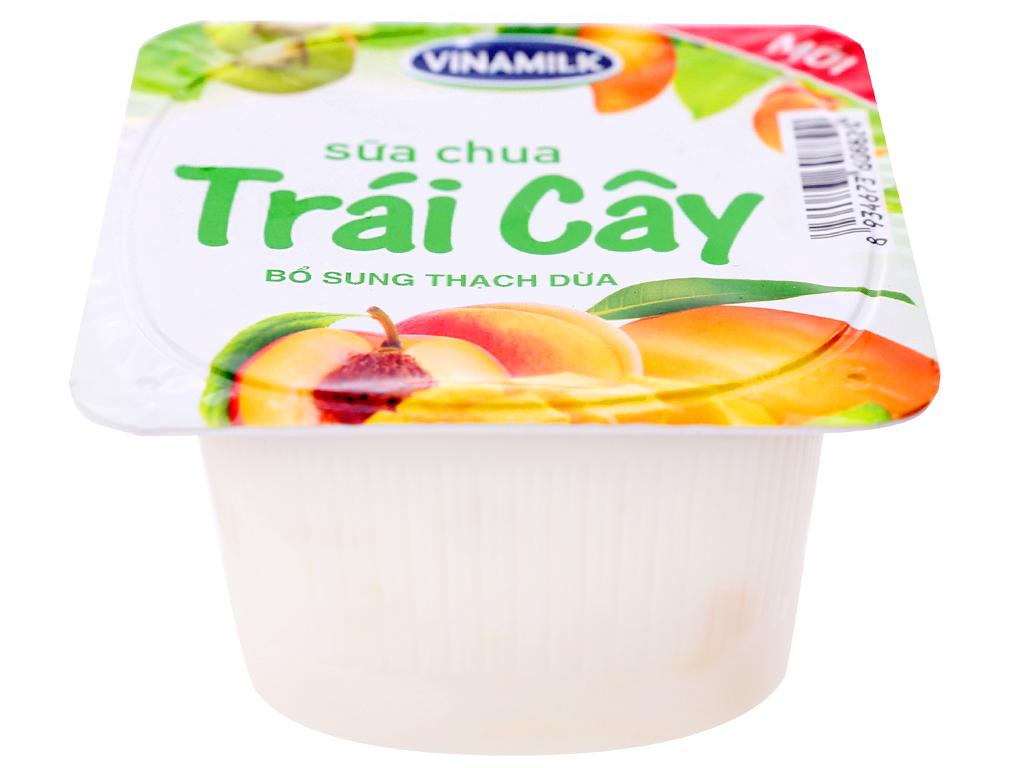 Lốc 4 hộp sữa chua trái cây Vinamilk 100g 2