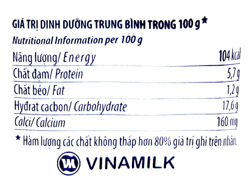 Lốc 4 hộp sữa chua trái cây dâu Vinamilk Greek Yoghurt 100g 6