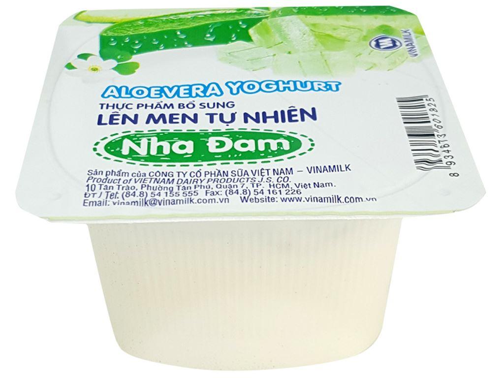 Sữa chua nha đam Vinamilk hộp 100g 1