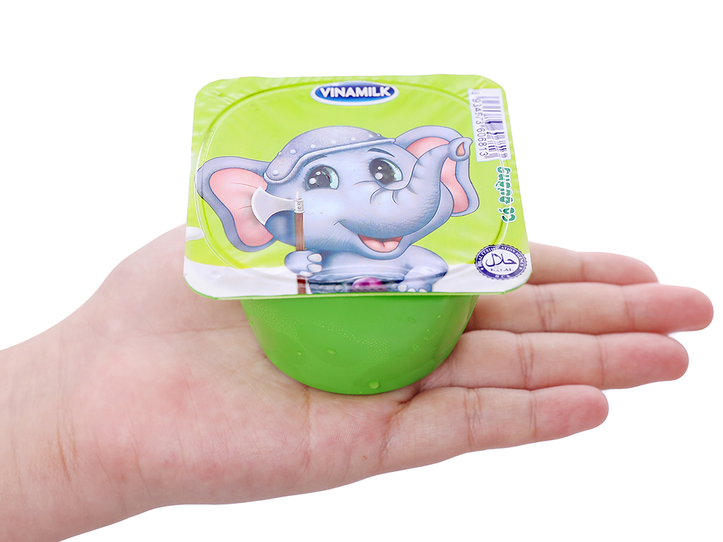 Lốc 4 hộp sữa chua cho trẻ em có đường SuSu 80g 5