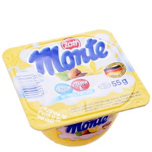 Váng sữa vani Monte hộp 55g
