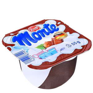 Váng sữa socola Monte hộp 55g