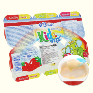 Lốc 6 hũ phô mai sữa chua Kids Mix hoa quả Premium 50g